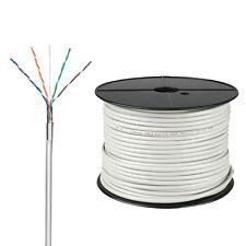 100m Netzwerk Kabel Cat.5e FTP Verlegekabel Installationskabel DS LAN Gigabit 08