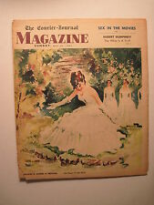 Louisville Courier Journal Magazine 5-24-1964. Somerset KY! Sex In The Movies!