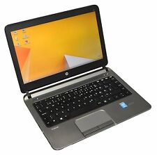 HP ProBook 430 G1 CORE i5 4300U 1.9GHZ 4GB 128 GB SSD CAM BLT HDMI usb3. 0 WIN