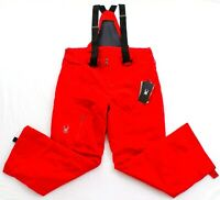 Spyder Red Dare Athletic Fit Snowboard Ski Insulated Snow Pants Men's NWT