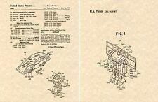 Transformers BLUESTREAK G1 US Patent Art Print READY TO FRAME Ohno