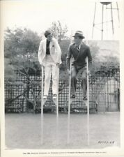 ARLINE JUDGE LYNNE OVERMAN Stilt Walking CANDID Vintage 1935 Paramount Photo