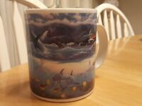 Whale Dolphin Coffee Mug Cup Pacific Ocean Splendor islands hawaii sea turtles