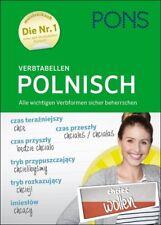 NEU: PONS Verbtabellen POLNISCH - polnische Verben Formen und Zeiten lernen