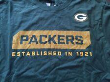 M green GREENBAY PACKERS NFL FOOTBALL LOGO t-shirt by NFL