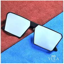 Vula Summer Square Unisex Sunglasses Shades Eyeglasses 166 (Silver)