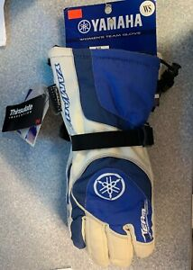 Brand New Women's Yamaha Team Glove - S - Blue/White - #SMW-09GTM-BL-SM