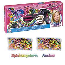 Original Rainbow Loom Hairloom Studio ink 600 Bänder und 40 Perlen + 2x Mix refi