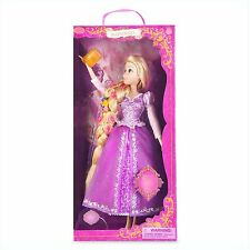 Disney Store Rapunzel Deluxe Singing Doll Glowing Flowers HTF