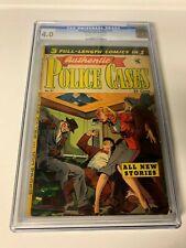 Authentic Police Cases #27 CGC 4.0 1953 Matt Baker Cover!