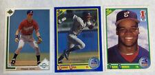 1990 Score Sammy Sosa Frank Thomas 1991 UD Chipper Jones RC Rookie Card Lot X3🔥
