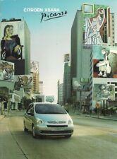 Citroen Xsara Picasso 2004-06 UK Market Sales Brochure LX Desire Exclusive