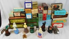 Lot of 28 Vintage Avon Decorative Decanters, Most in Original Boxes