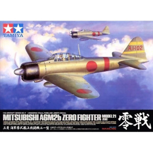 Tamiya 60317 1/32 Mitsubishi A6M2b Zero Type 21 (Zeke) Plastic Model Kit Brand N