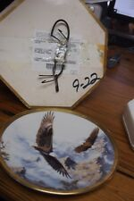 1993 Lenox Decorative Plate – Soaring the Peaks by Kelley from the Eagle Conserv