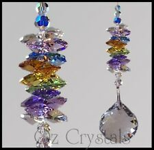 40mm Crystal Ball Suncatcher Made With Swarovski Crystal Multi Colours