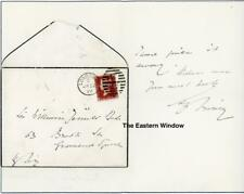 Sir Henry Irving (1838-1905) English actor ALS to Sir William Jenner + envelop