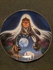 "Native American Indian Collector Plate ""Dream Weaver"""