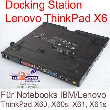 DOCKING STATION PORT REPLICATOR IBM THINKPAD X60 X60S X61 X61S 42W3014 +DVD/CDRW