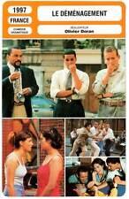 LE DEMENAGEMENT - Boon,Devos,Jaoui,Cluzet (Fiche Cinéma) 1997