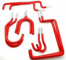 30pc STORAGE HOOK Assortment Set Hanging Bike, Ladder, Tools & Much More