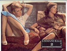 Affiche Cinema Film Erotique EMMANUELLE 2 1975 Orsini Kristel Francis Giacobetti