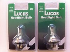 LUCAS LLB477  H7 55W HALOGEN HEADLAMP BULB x 2 Peugeot 206 207 307 308 807 406