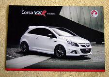 Vauxhall Corsa VXR Arctic Edition brochure, juillet 2008