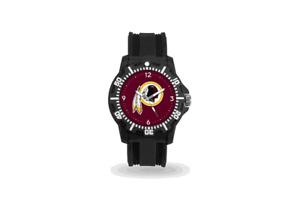 Washington Redskins Men's Black Watch - (NFL) Model Three