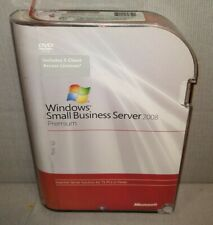 Microsoft Windows Small Business Server 2008 Premium, 5 CAL, T75-02411
