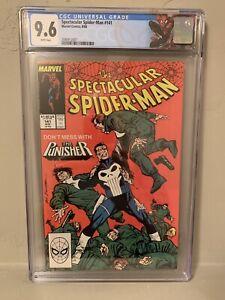 Spectacular Spider-Man #141 CGC 9.6 NM+ Punisher Custom Label