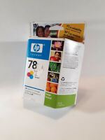 HP 78 Large Tri-Color Ink Cartridge C6578AN New Factory Sealed Never Opened