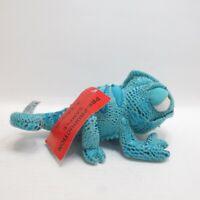 Pre Production Disney Pascal Soft Toy Plush Disney Store Sample Blue Tangled