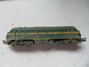 Fleischmann OO Scale Diesel Locomotive No.5202 Green & Yellow