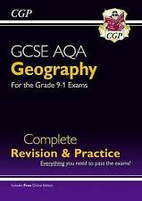 New Grade 9-1 GCSE Geography AQA Complete Revision & Practice (with Online Edition) by CGP Books (Paperback, 2016)