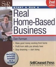 Start & Run a Real Home-Based Business: Make good money working from-ExLibrary