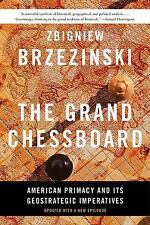 THE GRAND CHESSBOARD - BRZEZINSKI, ZBIGNIEW - NEW PAPERBACK BOOK