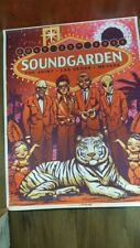 **RARE**  Soundgarden at the Joint 2011    tour lithograph