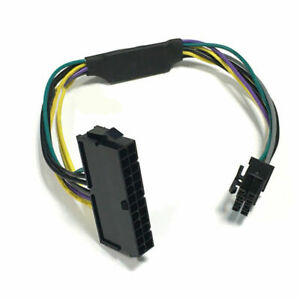 ATX 24-Pin To 8-Pin Power Supply Cable For DELL Optiplex 3020/7020 Adapter Cable