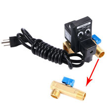 Qality Automatic Electronic Timed Water Moisture Drain Valve Compressor 110V Usa