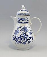 8440080 Porcelain Coffee Jug Onion Pattern Kahla Thuringia