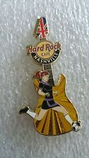 NASHVILLE,Hard Rock Cafe Pin,Sexy Girls of the Games Series