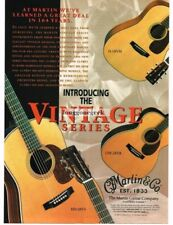 1997 MARTIN HD-28VS, D-18VM, OM-28VR Acoustic Guitar Vtg Print Ad