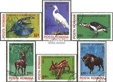 Rumänien 3705-3710 (kompl.Ausg.) gestempelt 1980 Europäisches Naturschutzjahr EU