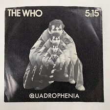 """The Who - 5:15 / I'm One 1979 7"""" Record US 45 rpm Single Polydor PD 2022"""