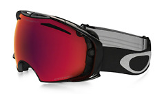 NEW Oakley Airbrake Goggles-Jet Black-Prizm Torch Lens-2/3 DAY US DELIVERY!