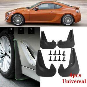 4x Universal Front Rear Mud Flap Flaps Splash Guard Mudguards Car Accessories