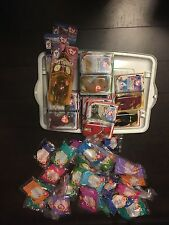 MCDONALDS HAPPY MEAL TY BEANIE TOYS LOT SET (44 TOTAL) (1998-2000)
