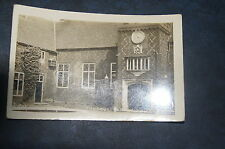 Rare Early Vintage Postcard Photograph THE COURTYARD BISHOPS PALACE J1201