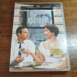 The Apartment DVD R4 Like New! FREE POST
